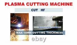 ICUT60 IGBT Air Plasma Cutter Machine HF Start AG60 Torch 60A 18mm Max Cut 230v