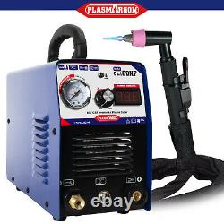 IGBT CUT60 Plasma Cutter Machine 220V 60Amps 3/4 Clean Cut & AG60 Torch