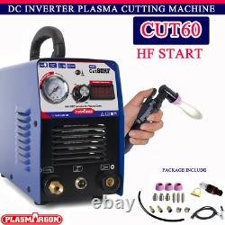 IGBT PLASMA CUTTER INVERTER HF 60 AMP 1-16mm THICKNESS 60AMP WITH CONSUMABLES
