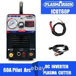 IGBT Pilot Arc Air Plasma Cutting Machine 60A 110/220V -CNC compatible