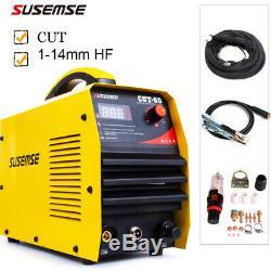IGBT Plasma Cutting Machine CUT50 HF Air Cut 14 mm 50A 110/220V+Consumables