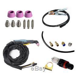 Inverter DC Igbt Air Plasma Cutter + Ag60 Plasma Cutting Torch 16mm Cut 110/220v