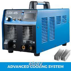 LGK-45 Plasma Cutter Built-In Air Compressor Inverter Cutting Machine 220V 45A