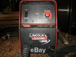 Lincoln Pro-Cut 25 amp plasma
