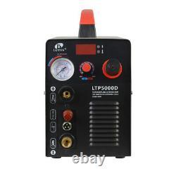 Lotos LTP5000D 50Amp Pilot Arc Plasma Cutter, Brown, 110V/220V 1/2 Cleaning Cut