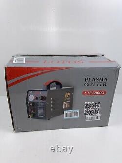 Lotus Plasma Cutter 50 Amp for Metal/Dual Voltage 1/2 in. Clean Cut LTP5000D