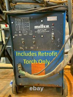 Miller Spectrum Zip Cut Plazcut Plasma Cutter Torch Fix Repair Replace CP40R