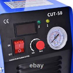 New 110 / 220V 50AMP CUT50 Inverter DIGITAL Air Plasma Welding Cutter Machine