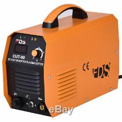 New Cut-50 Electric DC Inverter Air Plasma Cutter IGBT 50A 220V Cutting Machine