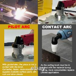 Non-Touch Pilot Arc Plasma Cutter 110V/220V CUT50P 50amp Inverter IGBT