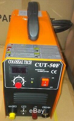 Non-Touch Pilot Arc Plasma Cutter CUT50F 50AMP 220V Comes With 18 Consumables