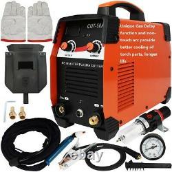 Open Box Gas Delay Inverter Non touch HF Plasma Cutter SG55 Torch 110V 45A