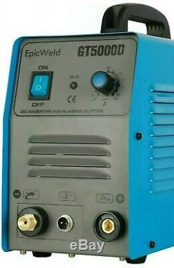 PLASMA CUTTER 110 OR 220 VOLTS 1/2 Clean Cut 50 Amp 1 Year Warranty