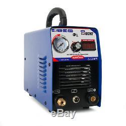 PLASMA CUTTER MACHINE ICUT60 Pilot 60A IGBT AG60 TORCH Digital Plasma Cutting