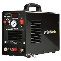 PRIMEWELD 50A CUT50DP NonTouch Pilot Arc Air Inverter Plasma Cutter Dual Voltage