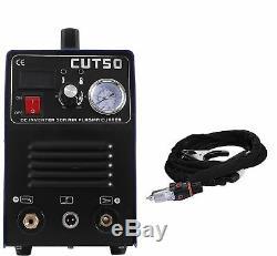 Performance Products Plasma Cutter CUT50 Digital Inverter 110/220V Dual Voltage