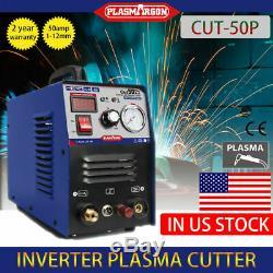 Pilot ARC Plasma Cutting Machine Blue CUT50P CNC Cut 14.7mm 50A 110/220V+30PCS