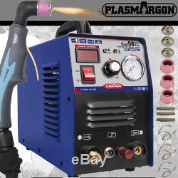Pilot ARC Plasma Cutting Machine Blue CUT50P CNC Cut 14.7mm 50A 230V+Consumables