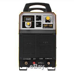 Pilot Arc Plasma Cutter CUT-100 100 Amp Digital IGBT Inverter Max Cutting 35mm