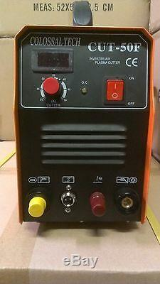 Pilot Arc Plasma Cutter CUT50F 50AMP 220V Voltage Digital Display Plasma Cutter