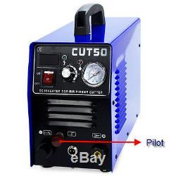 Plasma CNC 50P Pilot arc Plasma cutter WELDERS WSD60P torch Compact amp 110/220V