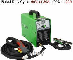 Plasma Cutter 35Amps DC 110V Portable Metal Cutter 2/5 Inch Inverter Cutting US
