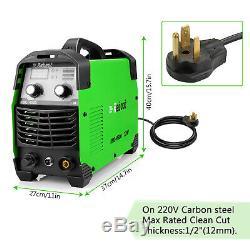 Plasma Cutter 45 Amp 220V IGBT Digital Cutting Welding Machine 1/2 Clean Cut