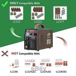 Plasma Cutter 50 Amp Dual Voltage Compact Metal Cutter Lotos LT5000D Clean Cut