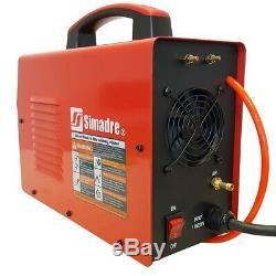 Plasma Cutter 50 Cons Pilot Arc 50amp Simadre 110/220v Easy 1/2 Clean Cut 50dp