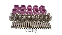 Plasma Cutter 50 Cons Simadre 50rx 110/220v 50 Amp 1/2 Clean Cut 60a Torch