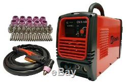 Plasma Cutter 50 Cons Simadre 50rx 110/220v 50a Easy 1/2 Clean Cut Power Torch