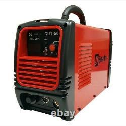 Plasma Cutter 50A 110/220V 1/2 Cut 60A Torch Simadre 50RX Cut Guide & Wheel