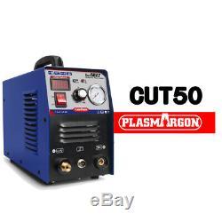 Plasma Cutter 50A Inverter DIGITAL Air Cutting CUT50 & Accessories PT31 Torch HQ
