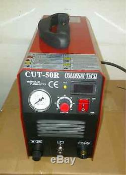 Plasma Cutter 50AMP NEW CUT50R Digital Inverter 220V Colossal Tech 2019 Model