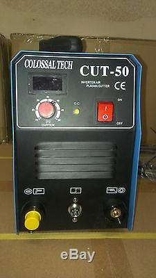 Plasma Cutter 50AMP New CUT50 Inverter 220V Voltage & 48 Consumables 2018 Model