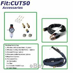 Plasma Cutter 50Amp Dual Voltage Inverter DC Cutting Machine 1-12mm Metal work