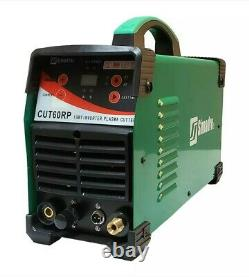 Plasma Cutter 60A 26 Cons Pilot Arc Digital 110/220V 4/5 Cut Simadre 60RP New