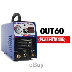 Plasma Cutter 60AMP New CUT60 Inverter 110V/220V warranty & 18 Consumables HQ