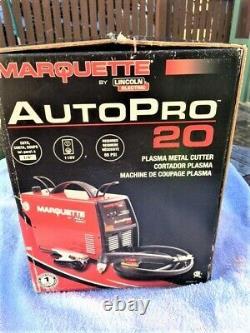 Plasma Cutter AUTOPRO K3294-1 Marquette By Lincoln 20 Amp Cuts 1/4 Max 115V NEW