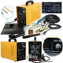 Plasma Cutter CUT50 50Amp Digital Inverter 110/220V Dual Voltage Plasma Cutter
