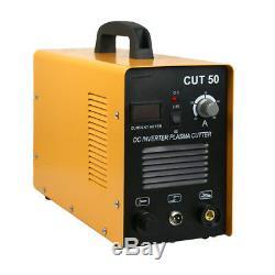 Plasma Cutter CUT50 Digital Inverter 110/220V Dual Voltage Plasma Cutter 50AMP