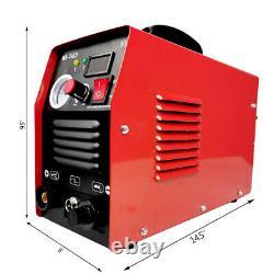 Plasma Cutter CUT50 Digital Inverter 110/220V Dual Voltage Plasma Cutter USA New