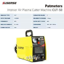 Plasma Cutter CUT50 IGBT Digital Inverter Clean Cutting 14mm Dual Voltage