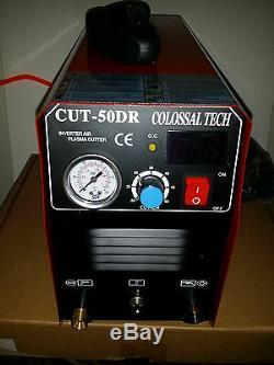 Plasma Cutter CUT50DR Digital Inverter 110/220 Dual & 44 Consumables 2019 Model
