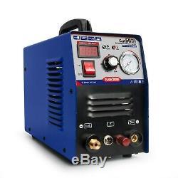 Plasma Cutter Pilot Arc 50A 110/220V 1/2 Clean Plasma Cutters Consumables Hot