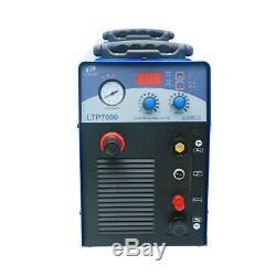 Plasma Cutter Pilot Arc 70Amp Lotos LTP7000 50/60Hz Cuts 7/8 Dirty Rough Metal