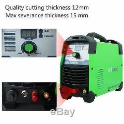 Plasma Cutter Pilot Arc Non-Touch 50Amps, 110/220V Cut Machine AC 1/2 Clean Cut