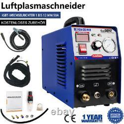 Plasmaschneider CUT 50 Inverter Plasmaschneidgerät HF-Zündung IGBT Plasma Cutter