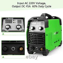 Portable AIR Plasma Cutter 45A 220V IGBT Digital Cutting Machine 1/2 Clean CUT