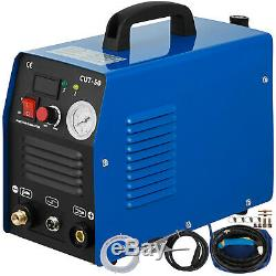 Portable Electric Digital Plasma Cutter CUT50 110/220V Compatible & Accessories